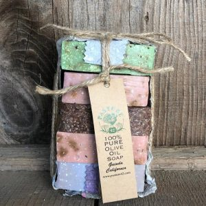 Pure Olive Oil Soap Variety Pack
